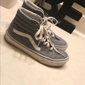 Grey High Top Vans